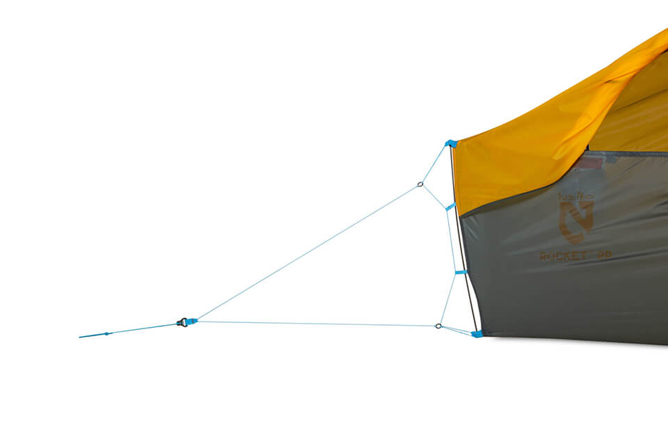 Nemo Footprint for Rocket 2P Tent